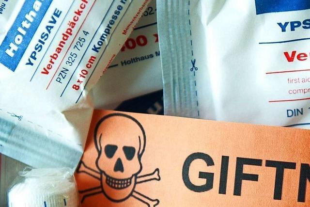 Freiburger Giftnotruf bekommt wegen Desinfektionsmitteln mehr Anrufe