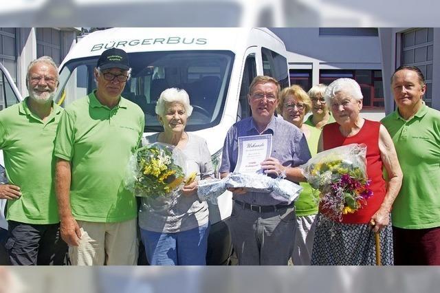 Bürgerbus nimmt Betrieb wieder auf