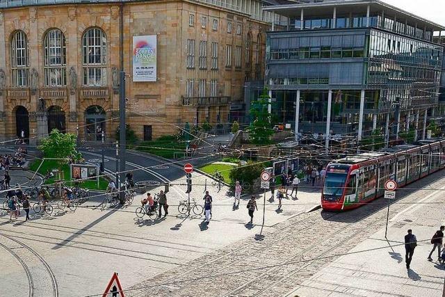Drei Männer verletzen sich bei Schlägerei in der Freiburger Innenstadt