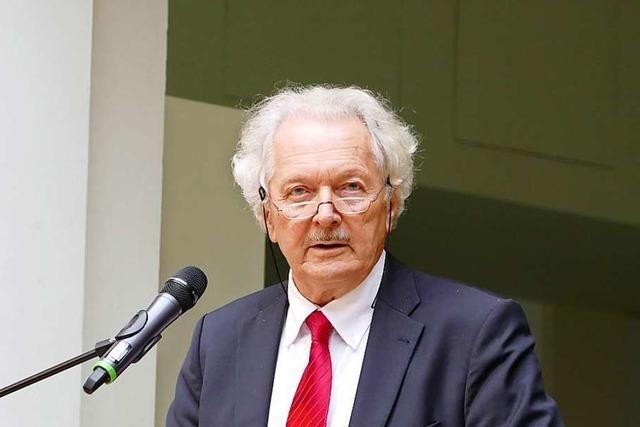 Wolfram Wette wird Ehrenbürger von Waldkirch