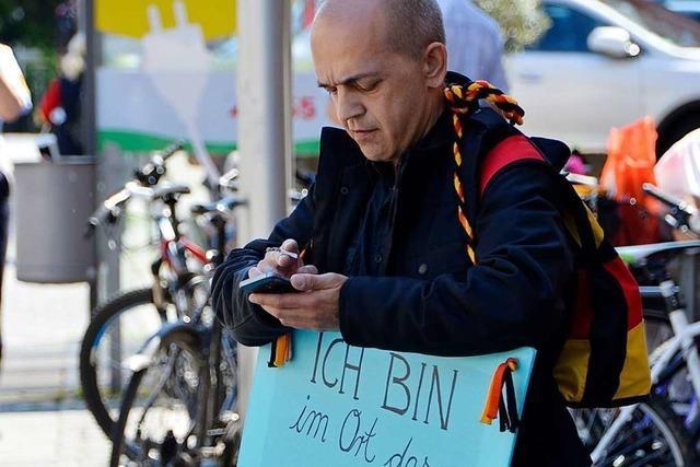 Offenburgs OB rügt AfD-Stadtrat wegen antisemitischen Plakat