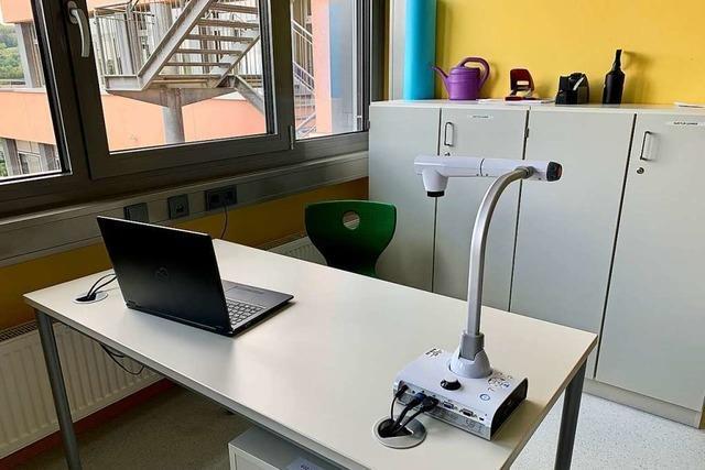 Geld aus dem Digitalpakt für das vernetzte Klassenzimmer