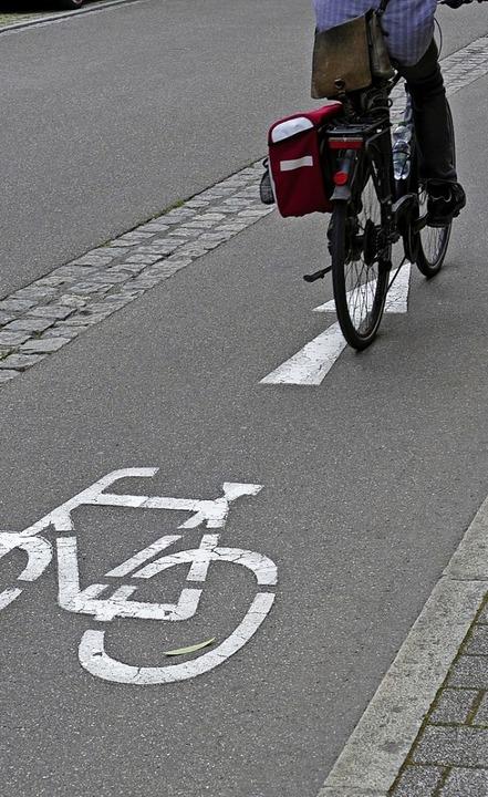 Die Grünen fordern, bei allen Planungen das Rad immer gleich mit zu bedenken.   | Foto: Peter Gerigk