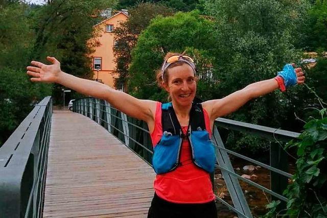Freiburgerin Simone Schwarz läuft in Rekordzeit über den Zweitälersteig