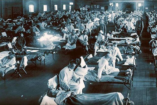 Die spanische Grippe kam in zwei Wellen nach Freiburg