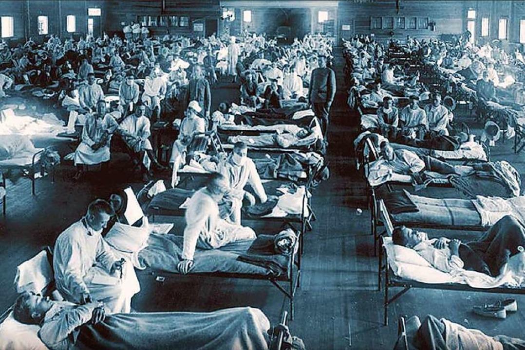Die Spanische Grippe – das Foto ...rg und das Dreisamtal waren betroffen.  | Foto: dpa