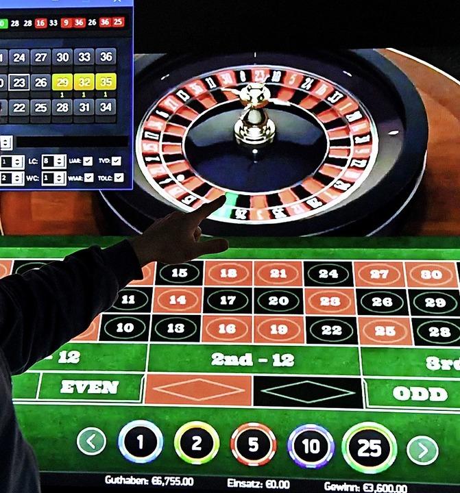Auch Roulette wird online gespielt    Foto: Carsten Rehder