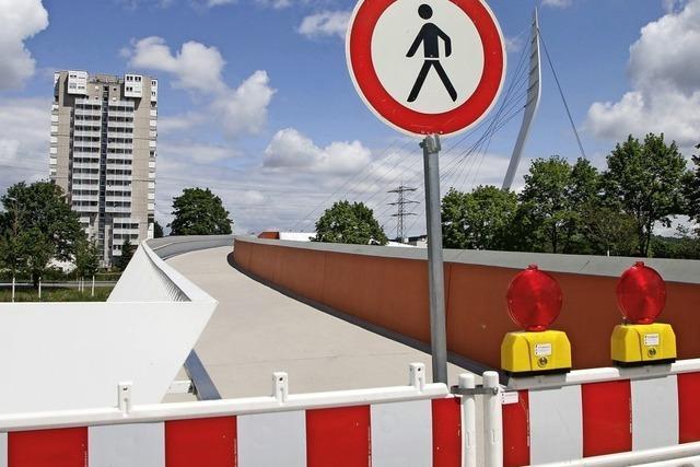 Die Ortenaubrücke ist gesperrt