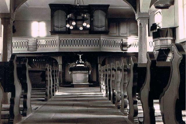 Die Wittenweierer Kirche wurde zwei Mal zerstört