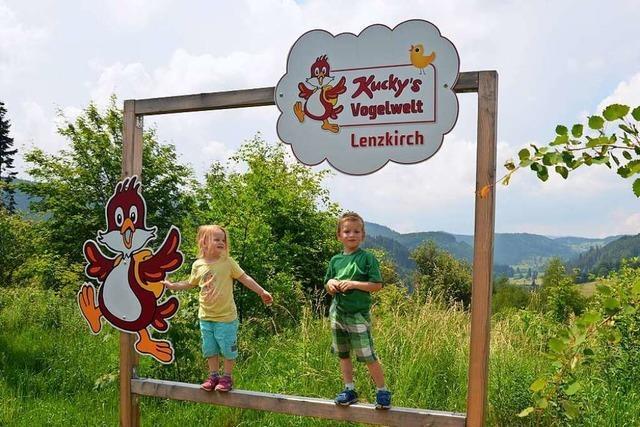 In Lenzkirch können Kinder mit Kucky die Vogelwelt entdecken