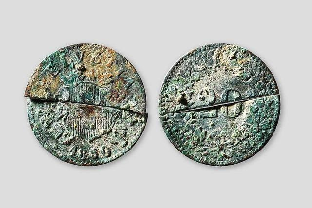 Im Kanton Baselland taucht Falschgeld aus dem 19. Jahrhundert auf