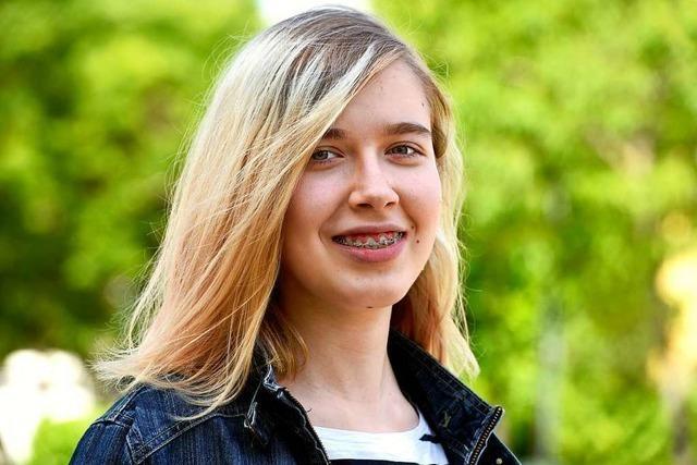 Katharina Heinrichs aus Freiburg hat einen bundesweiten Schreibwettbewerb gewonnen