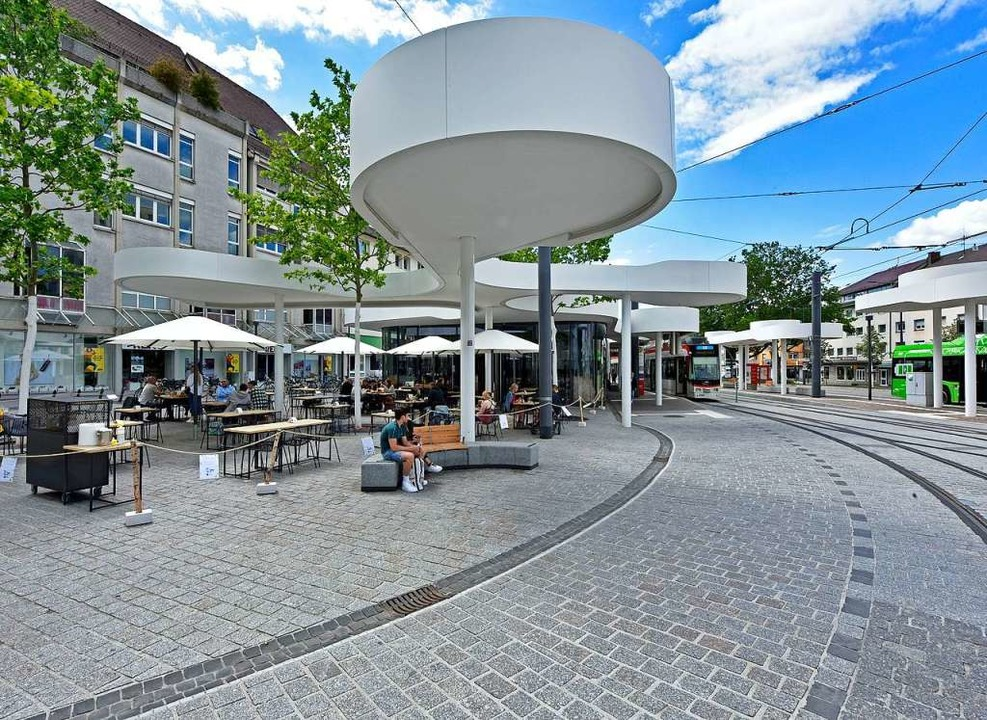 Die städtische Wohnungsgesellschaft is...mieterin des Pavillons am Europaplatz.  | Foto: Michael Bamberger