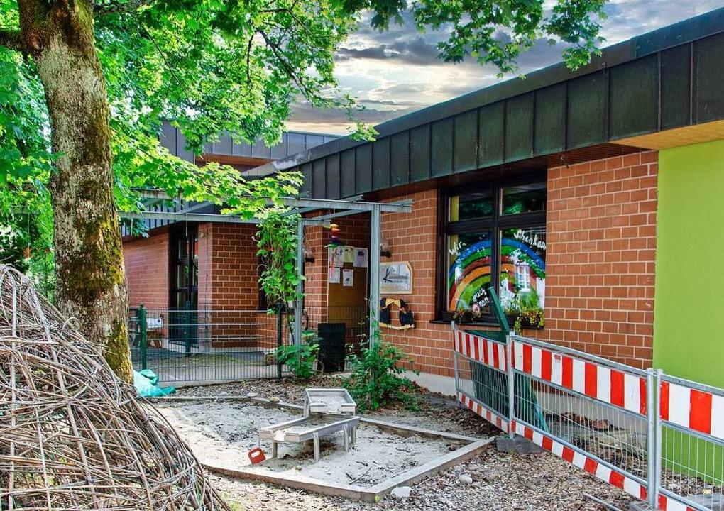Der Maulburger Gemeinderat beschließt ...sgestattete Außenanlage für die  Kita.  | Foto: Paul Eischet