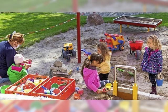 Gelungener Start im Kindergarten