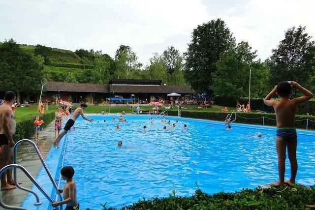 Schwimmbad in Vogtsburg wird saniert