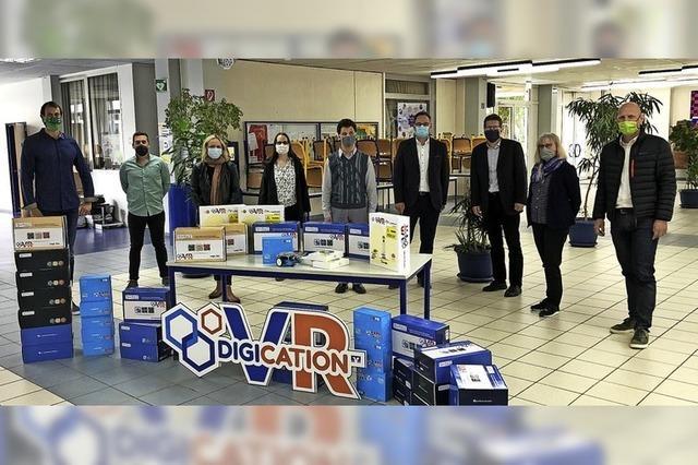 16 000 Euro für die digitale Bildung
