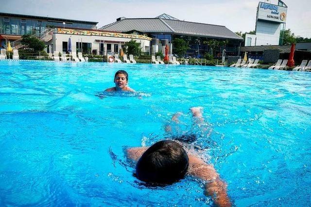Im Weiler Freizeitbad Laguna wartet man auf den Startschuss für die Badesaison