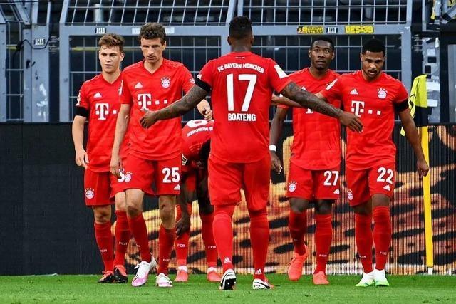 Dortmund verliert im Spitzenspiel mit 0:1 gegen Bayern München