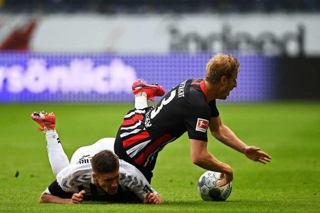 3:3 nach Zwei-Tore-Führung: SC Freiburg verpasst Auswärtssieg in Frankfurt