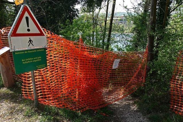 Zu viel Müll, zu viel Lärm: Ein Treffpunkt am Rhein wird gesperrt