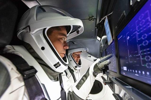 Erstmals bringt eine Rakete von Elon Musk Menschen ins All