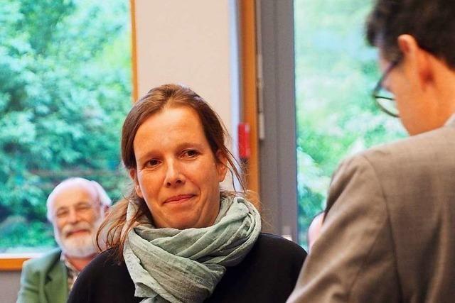 Susanne Vogler folgt im Gemeinderat Kirchzarten auf Holger Schatz