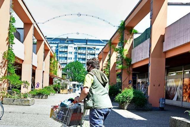 Gastronomen haben beim Abriss des EKZ in Freiburg-Landwasser das Nachsehen