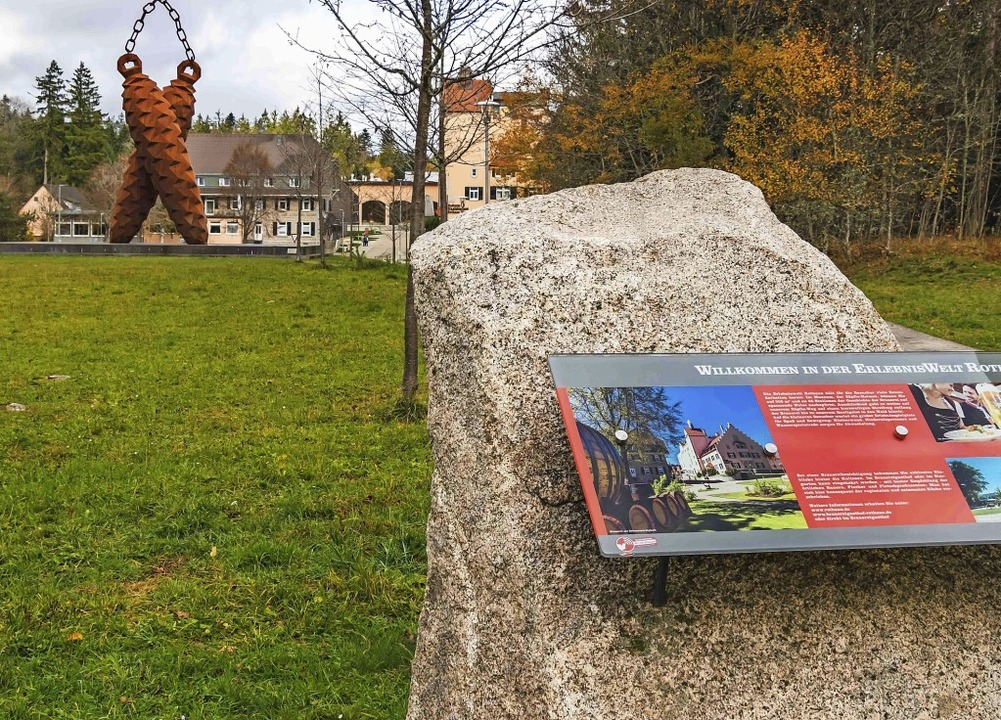 Die Erlebniswelt Rothaus kann sich bis...Heimatmuseum Hüsli weiter entwickeln.     Foto: Wilfried Dieckmann