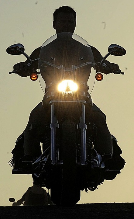 Manche Menschen mögen laute Motorräder...e mögen nicht einmal leise Motorräder.  | Foto: Mike Nelson