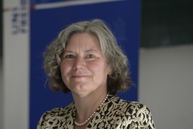 Kerstin Krieglstein wird Rektorin der Universität Freiburg