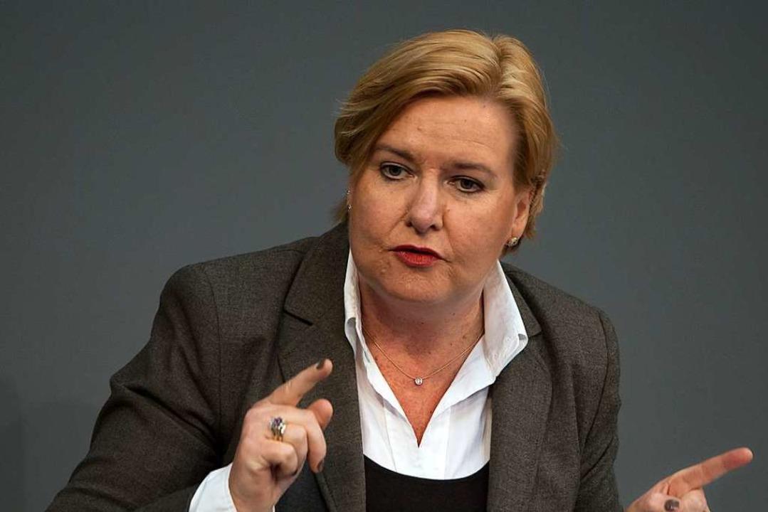 Die neue Wehrbeauftragte des Bundestages, Eva Högl    Foto: Soeren Stache