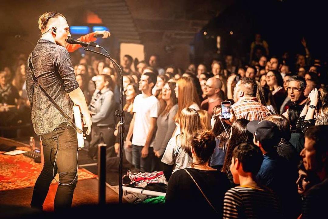 Ein Konzert im Jazzhaus im Februar: Al...>,  Konzerte, die fortan möglich sind.    Foto: Janos Ruf