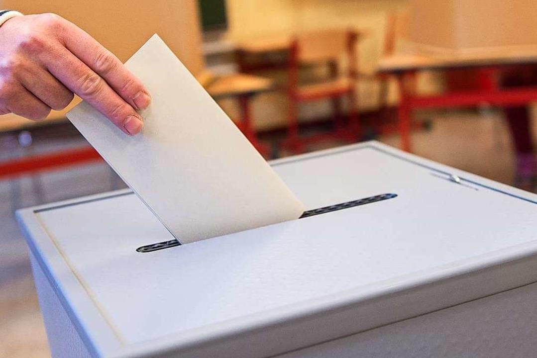 Bei der Kommunalwahlwahl 2019 wählten ...inge in die Gemeinderäte (Symbolbild).  | Foto: Silas Stein