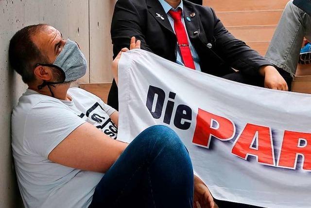 Martin Rupp tritt im Kreis Lörrach für Die Partei zur Landtagswahl an