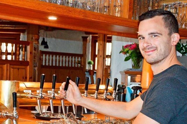 Gaststätte Spritzenhaus in Kirchzarten hat einen neuen Wirt