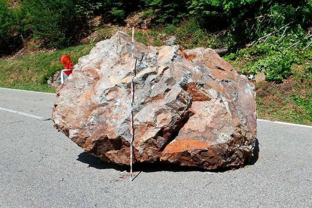Die Felssicherung in Präg beginnt voraussichtlich am 2. Juni