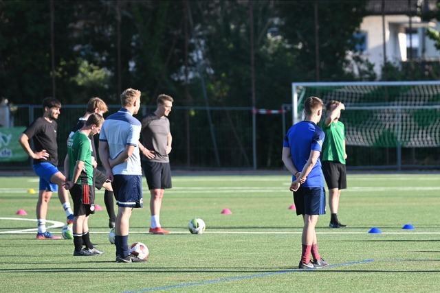 Wie der FC Freiburg-St. Georgen unter Auflagen ins Training einsteigt