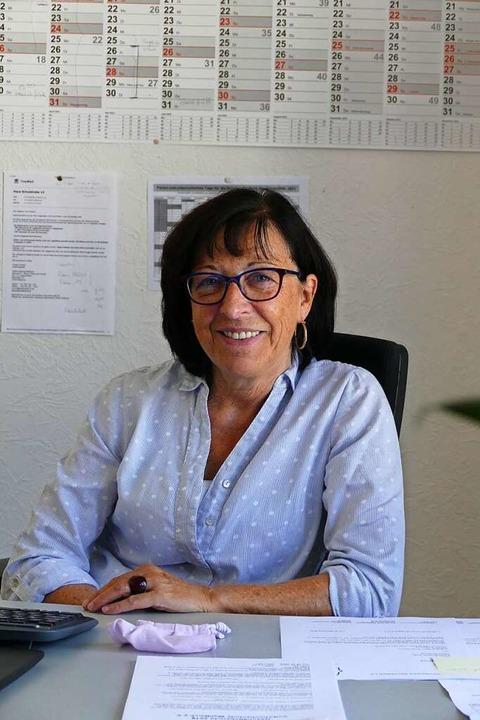 22 Jahre Geschäftsstellenleiterin bei ...chschule Waldkirch: Angelika Fröhlich.    Foto: Sylvia Sredniawa