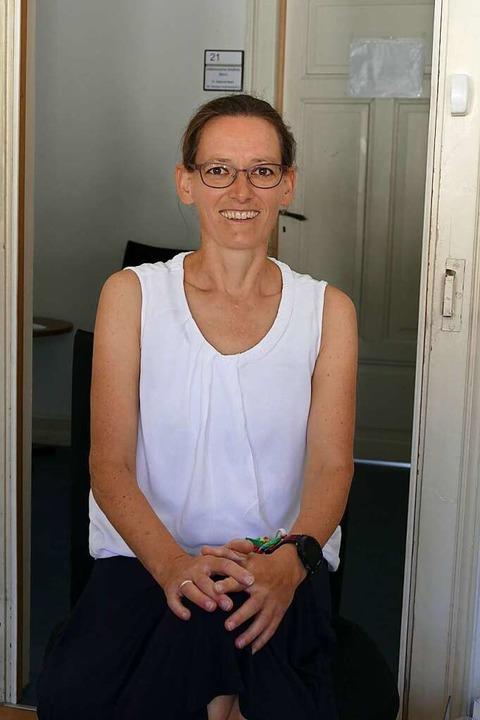 Anja Lohfink wird nach Angelika Fröhlich die neue Geschäftsstellenleiterin.    Foto: Sylvia Sredniawa