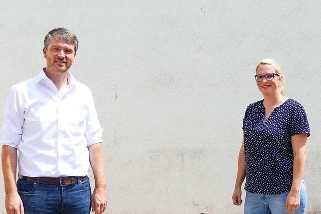 SPD-Duo will bei der Landtagswahl das Direktmandat