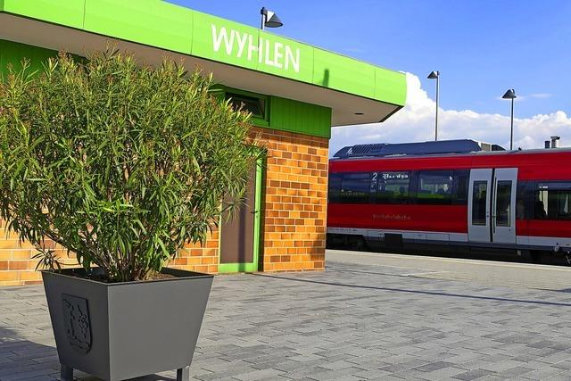 Umbau des Bahnhofs in Wyhlen geht bald los