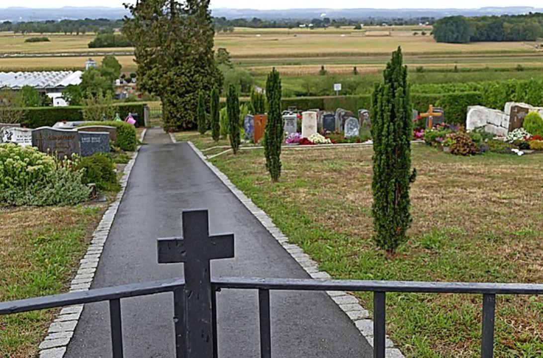 Der Friedhof Fischingen wird neu geordnet.      | Foto: Victoria Langelott