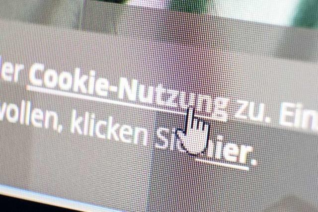 Nutzer muss Cookies aktiv zustimmen