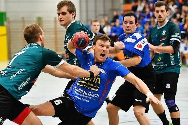 Handballer Gerrit Bartsch von der HU Freiburg vermisst die Meisterschaftsfeier