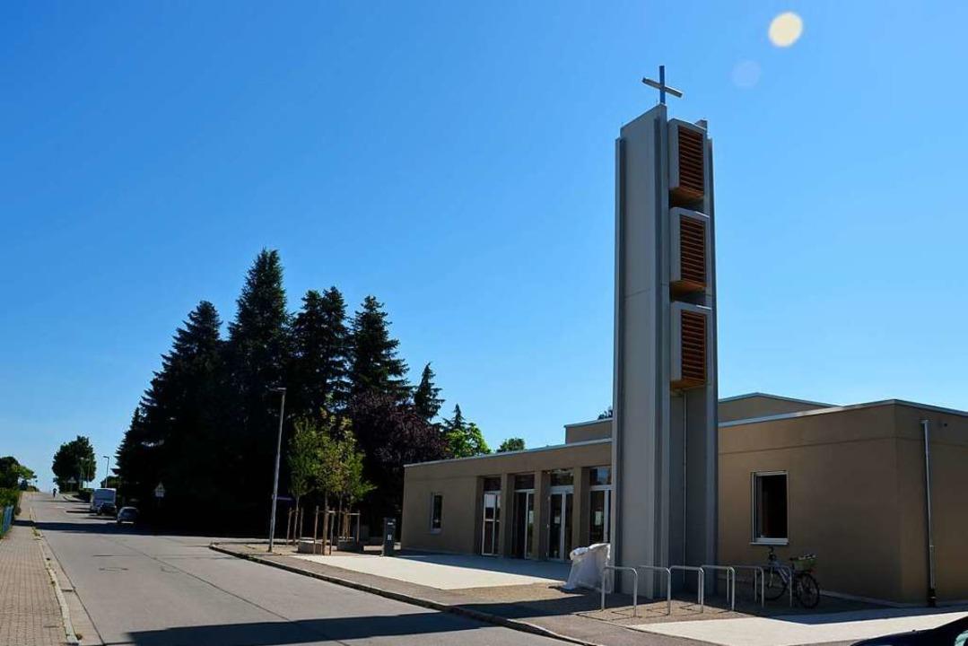 Das neue evangelische Gemeindezentrum  | Foto: Sophia Hesser