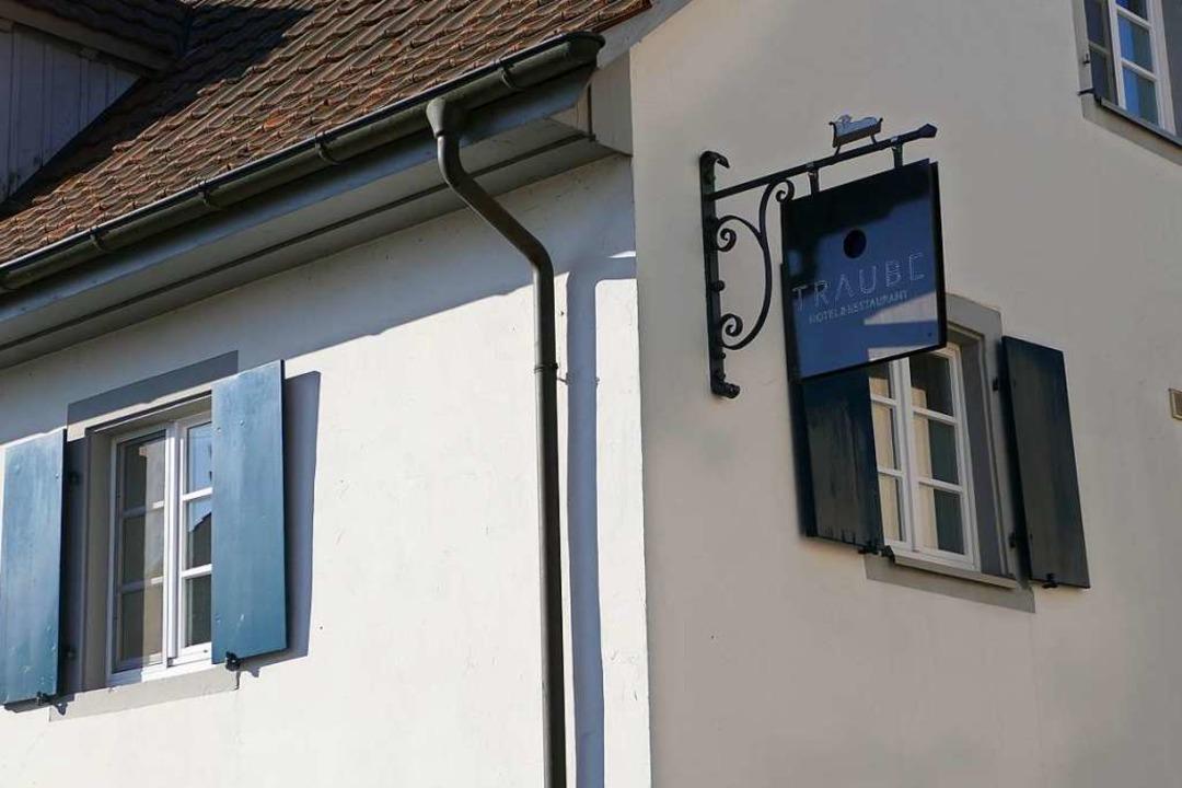Die Traube in Blansingen, das zu Efringen-Kirchen gehört.    Foto: Victoria Langelott