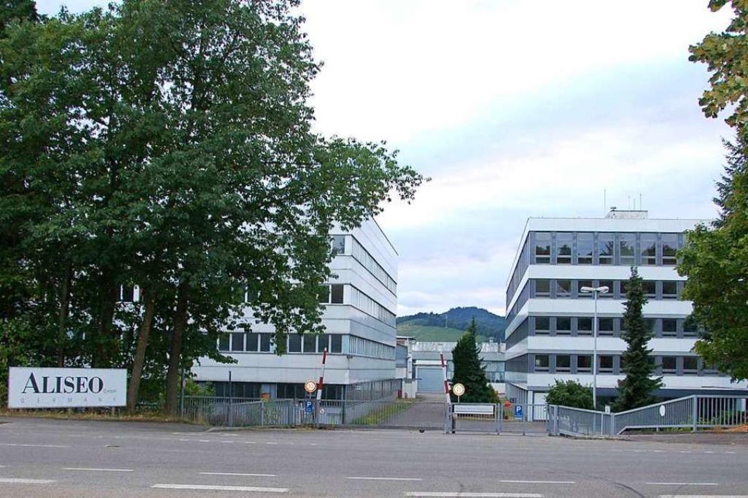 Nur die Gebäude, welche die Firma  Ali...nks) übernommen hat, bleiben erhalten.    Foto: hrö