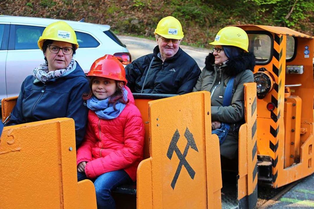 Ab Pfingsten sind im Bergwerk Finstergrund in Wieden Masken Pflicht.  | Foto: Monika Weber