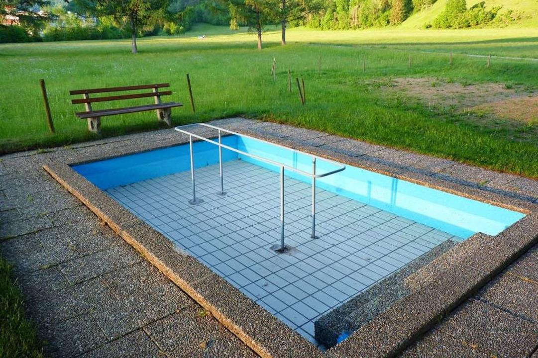 Die Wassertretstelle in der Mühlmatt in Schönau wird am 2. Juni befüllt.  | Foto: Sattelberger